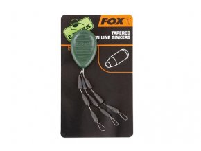 Fox těžítka na návazce Edges Tapered Main Line Sinkers