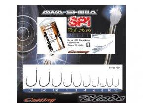 AWA-SHIMA rybářské háčky Cutting Blade 1001