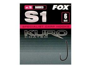 Fox rybářské háčky Kuro S1