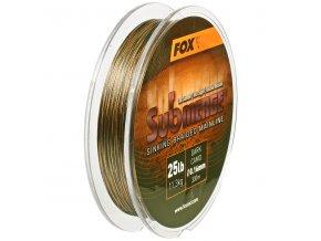 Fox šňůra Submerge Braided Mainline