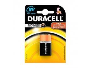 Baterie alkalická Duracell BASIC 9V 1604 K1