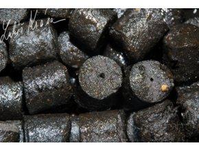 LK Baits pelety Salt Black Hallibut Pellets