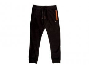 Fox tepláky Black and Orange Joggers