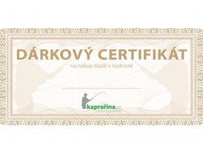 Dárkový certifikát Kaprařina.cz