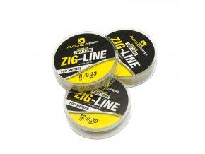 lg avid carp two tone zig line