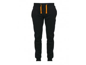 black orange joggers front