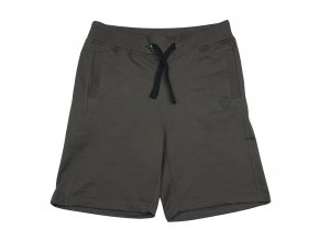 green black jogger shorts