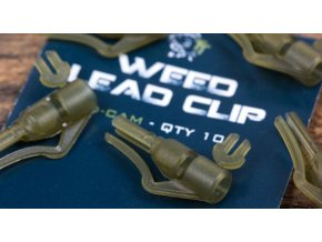 Nash Závěsky na olovo Weed Lead Clip Diffusion Camo 10ks