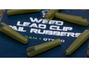 Nash Převlek na závěsku Weed Lead Clip Tail Rubbers Diffusion Camo 10ks