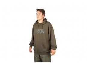 Nash výprodej - Mikina s kapucí H-Gun Green