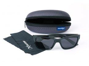 matrix trans black casual grey lense