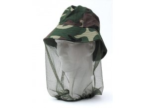 Behr klobouk s moskytiérou Camouflage