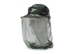 Behr maskáčová kšiltovka s moskytiérou