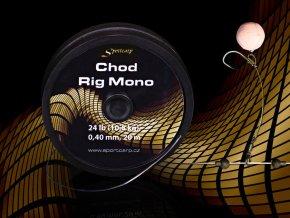 Sportcarp tuhý návazcový materiál Chod Rig Mono