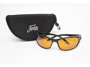 Fortis polarizační brýle Wraps Amber