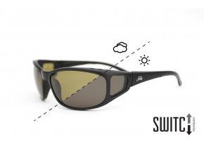 Fortis polarizační brýle Wraps Switch