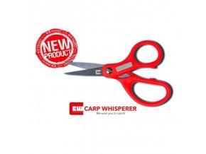 Carp Whisperer rybářské nůžky Fishing Scissors