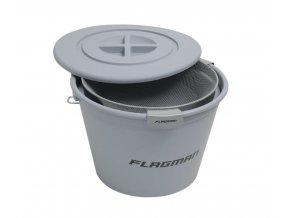 Flagman set kbelík 25l + miska + síto + víko