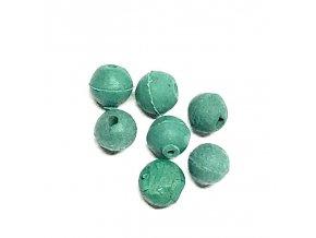 Sportcarp gumové průběžné kuličky zelené 20 ks