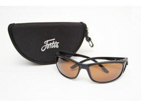 Fortis polarizační brýle Wraps Brown