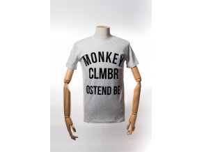 Monkey Climber tričko Ostend Shirt Heather Ash