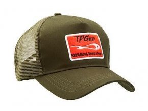 TFG kšiltovka Trucker Baseball Cap Olive