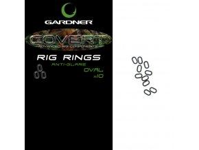 Gardner Kroužky Covert Oval Rig Rings