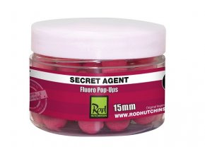 Rod Hutchinson plovoucí boilies Fluoro Pop-Ups Secret Agent