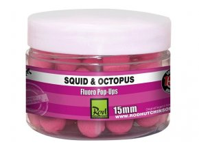 Rod Hutchinson plovoucí boilies Fluoro Pop-Ups Squid and Octopus