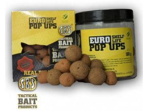 SBS Baits plovoucí boilies Eurostar Pop Ups