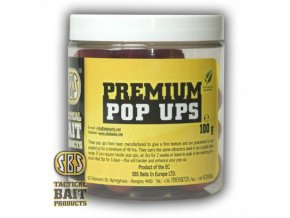 SBS Baits plovoucí boilies Premium Pop Ups All Season Corn