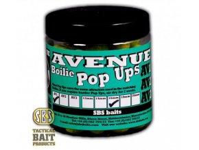 SBS Baits plovoucí boilies Premium Pop Ups The Avenue AV1
