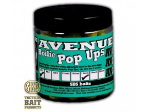 SBS Baits plovoucí boilies Premium Pop Ups The Avenue AV1