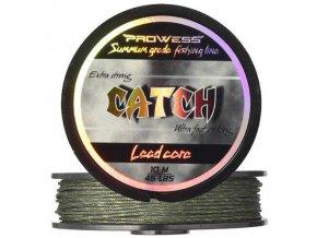 Olověná šnůra CATCH Lead Core 45 lbs, 10m (camo zelená)