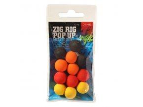 Giants Fishing Pěnové plovoucí boilie Zig Rig Pop-Up 10mm mix color,12ks