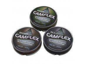 Gardner Olověná šňůrka Camflex Leadcore 20m