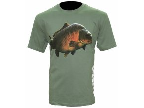Zfish Tričko Carp T-Shirt Olive Green