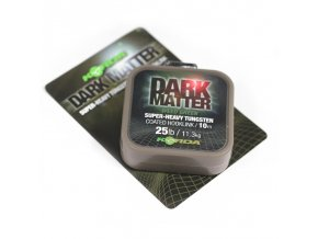 korda dark matter tungsten coated braid brown 18lb