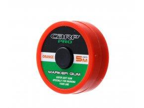 CarpPro označovací guma Marker Gum 5 m Fluo Orange