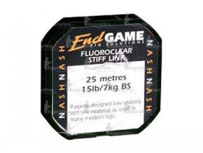 Nash návazcový Fluorocarbon stiff link 20lb/20m