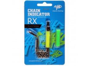 Giants Fishing Řetízkový indikátor Chain Indicator RX Green/Yellow