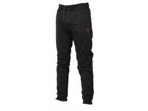 fox collection lw joggers black orange angled