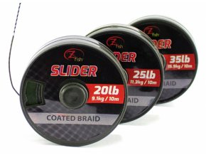 Zfish Šňůrka Slider Coated Braid 10m