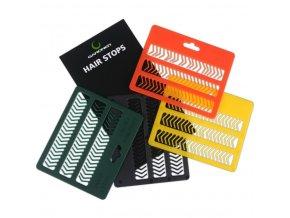 Zarážky Hair Stops|Green (zelené)