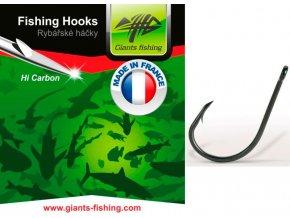 Giants Fishing Háčky s očkem Carp 10ks/vel.1