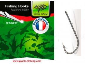 Giants Fishing Háček dravcový s očkem 10ks/vel.1