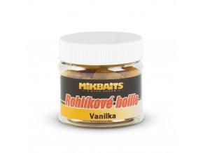 Mikbaits Rohlíkové boilie 50ml - Vanilka