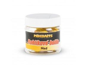 Mikbaits Rohlíkové boilie 50ml - Med