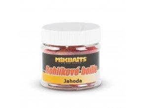 Mikbaits Rohlíkové boilie 50ml - Jahoda