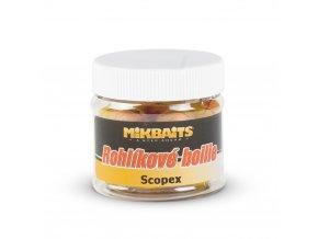 Mikbaits Rohlíkové boilie 50ml - Scopex